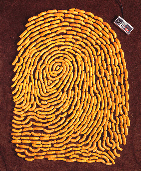 Cheetos Fingerprint