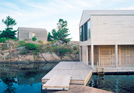 Floating House Deck