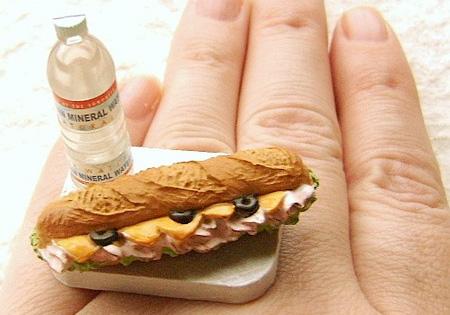Sub Sandwich Ring