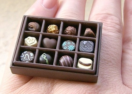 Box of Chocolates Ring