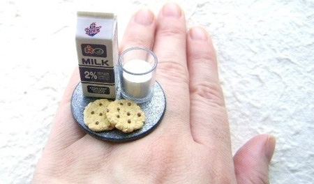 Milk and Cookies Ring