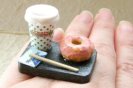 Coffe and Donut Ring