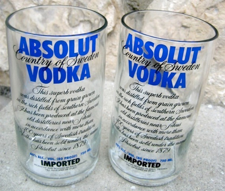 Vodka Bottle Glasses