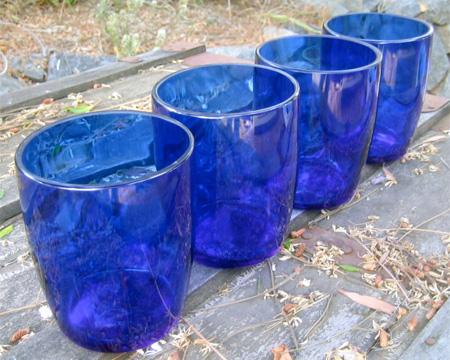 Spring Water Bottle Glasses