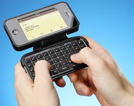 iPhone Tactile Keyboard