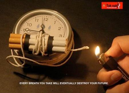 Smoking Time Bomb