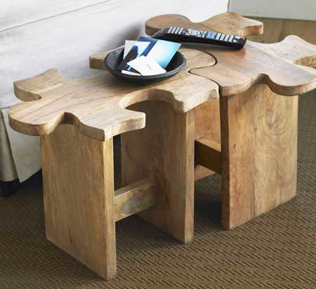 Puzzle Stool