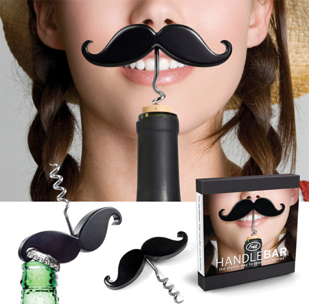 Moustache Corkscrew