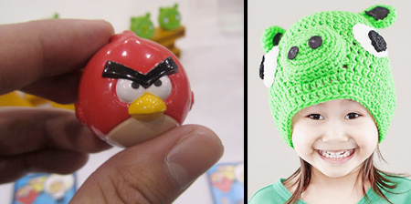 Angry Birds Inspired Products