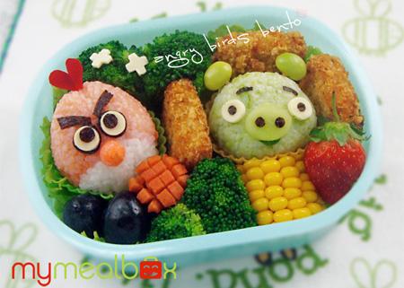 Angry Birds Bento