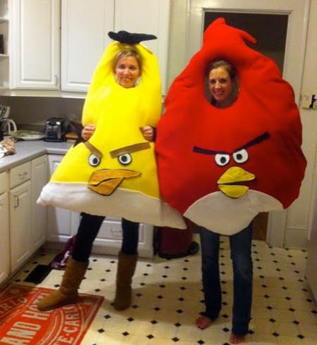 Angry Birds Halloween Costumes