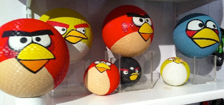 Angry Birds Rubber Balls