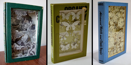 Amazing Book Carvings