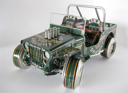 Beer Can Jeep