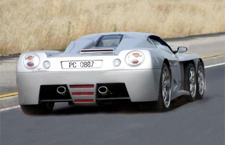Covini C6W Supercar