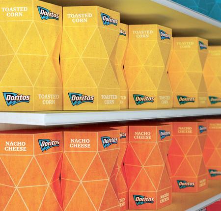 Doritos Packaging Design