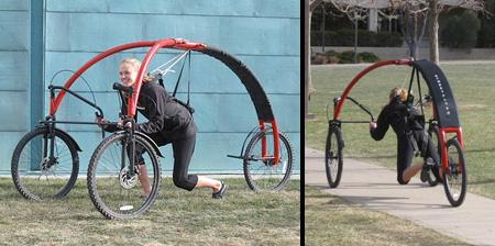 Hang Glider on Wheels