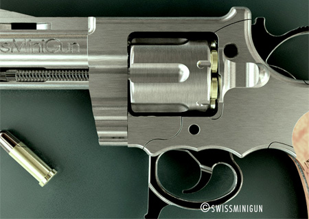 Swiss mini gun is a miniature double action revolver that has all the