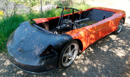 Human Powered Electric Car