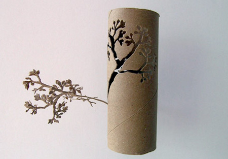 Toilet Paper Roll Tree