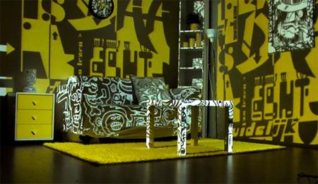 Typography Living Room