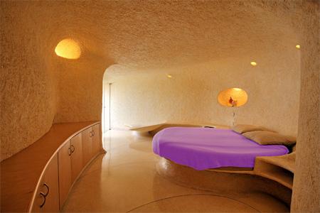 Shell House Bedroom