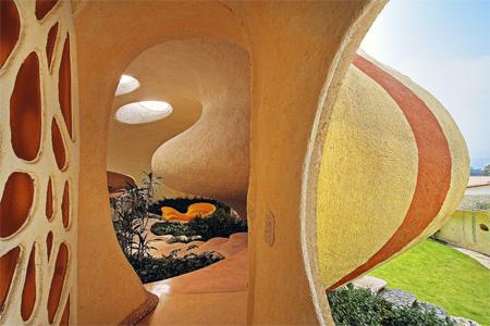 Shell Inspired House