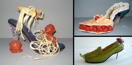 Amazing Shoe Sculptures