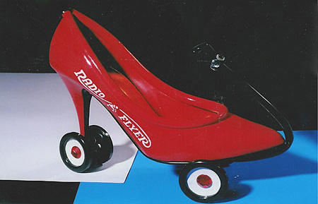 Radio Flyer Wagon Shoe