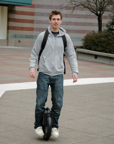 Electric Self-Balancing Unicycle