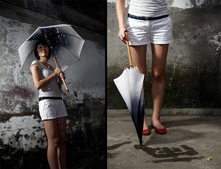 Rain Brush Umbrella