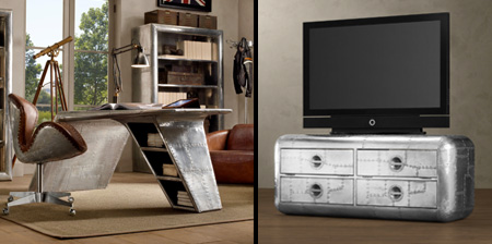 Aviation Inspired Furniture