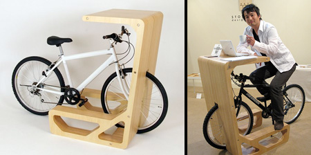 Bicycle Desk
