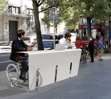 Outdoor Bicycle Furniture