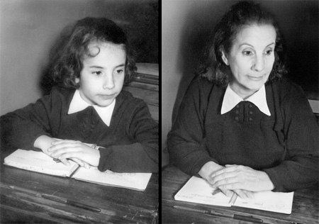 Lucia in 1956 and 2010