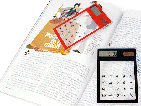 Transparent Calculator