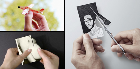 Cool and unusual business cards reheart Image collections