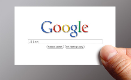 Google Me Business Card