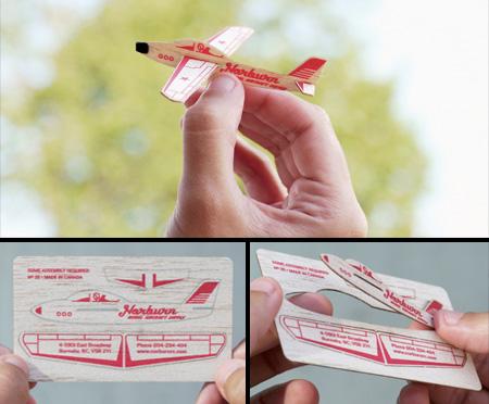 Airplane Business Card