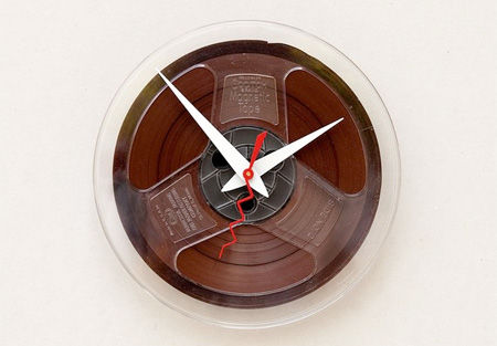 Magnetic Tape Clock