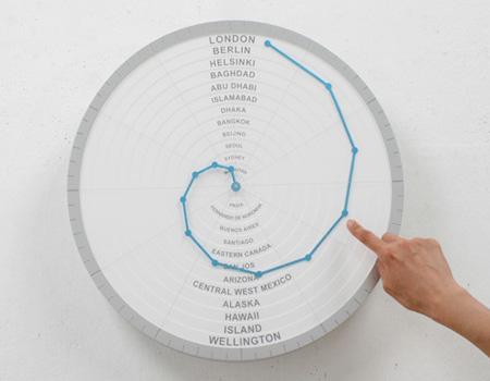 Bent Hands Clock