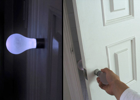 Light Bulb Door Handle