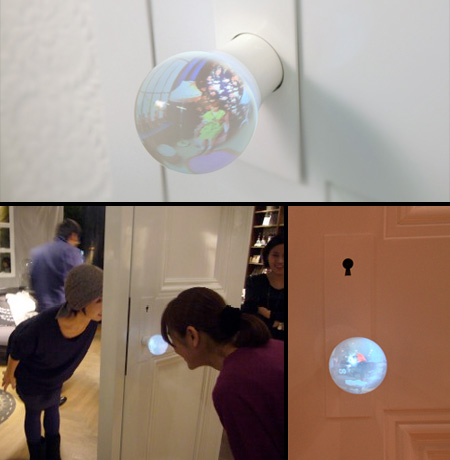 Glass Globe Door Handle