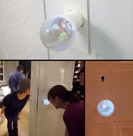 Glass Globe Door Handle