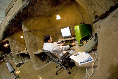 Cave Office