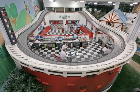 Race Track Office
