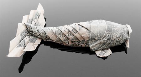 Dollar Bill Koi