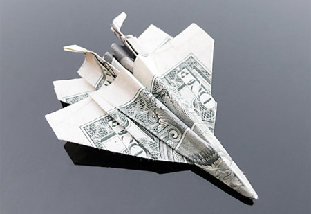 Dollar Bill Jet