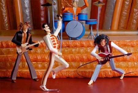 Paper Freddie Mercury