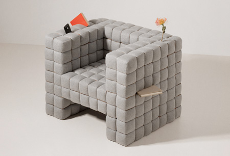 Lost in Sofa Chair